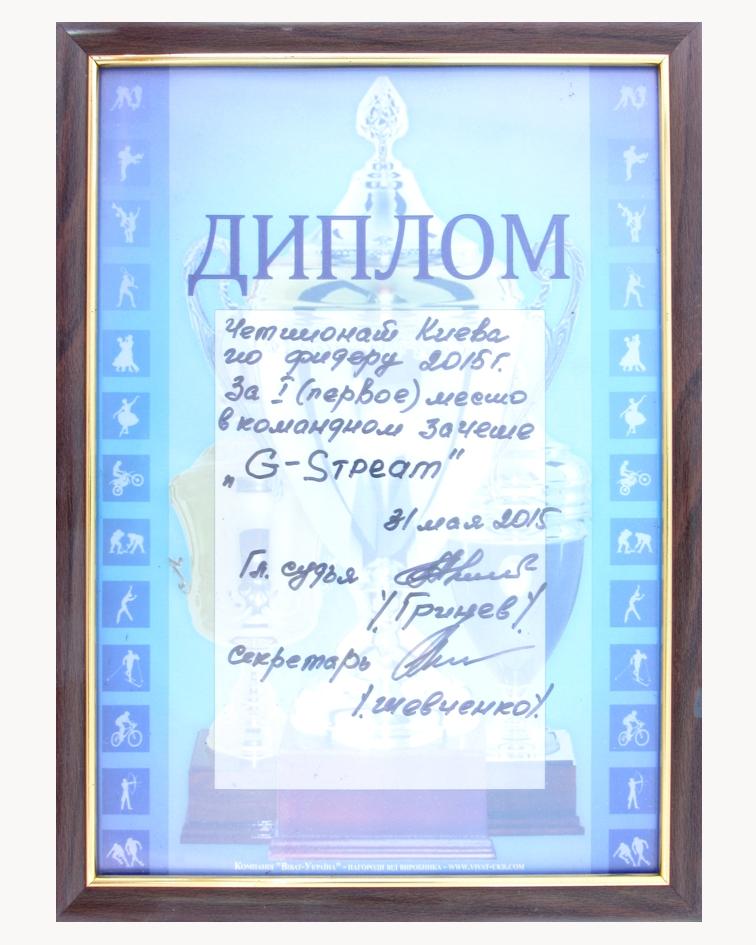 2015 1м команда ЧКиева